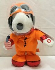 Peanuts Snoopy Talking And Dancing Astronaut New A Very Cool Peanuts Collectible