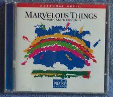 Hosanna MARK CONDON Marvelous Things 2000 CD Worship OOP