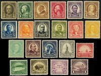 551-71, Mint VF OG LH A Very Fresh Stamps to the $1 Cat $295.00 -- Stuart Katz
