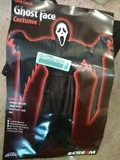GHOST FACE Hooded Robe Halloween Costume, (as seen in SCRE4M)