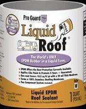 American Motorhome RV Liquid Roof EDPM Liquid Rubber Roof Repair Kit,1 US Quart