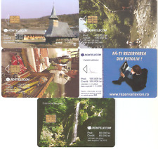 5 Romanian phonecards,sample