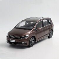 1/18 Scale Volkswagen Touran L 2016 Brown DieCast Car Model Toy Collection