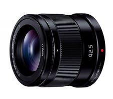 Panasonic LUMIX G 42.5mm/F1.7 ASPH./POWER O.I.S H-HS043-K Black Lens