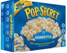 Butter Pop Secret Microwave Popcorn Original Snack Foods 206g Sporting Home New