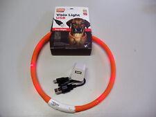 Karlie Visio Light Led-leuchtschlauch mit USB - orange