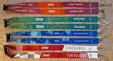 More details for official olympic lanyards - london 2012, rio 2016, pyeongchang 2018, tokyo 2020