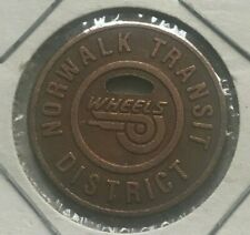 Norwalk Connecticut CT Norwalk Transit District Transportation Token
