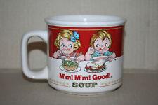 Campbell's Soup Mug M'm! M'm! Good! Microwave & Dishwasher Safe