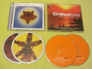 Real Ibiza 3 Chilling You Softly & Chilled Ibiza 2 Albums 4 CDs Downtempo Aim Ze