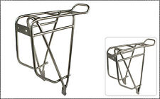 LKLM Stainless Steel Bike Rear Rack for Holding Panniers Available for 700C/26in