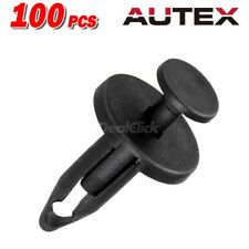 100x Nylon Fender Bumper Hood Push-Type Retainer Clip Fasteners for Chrysler GM