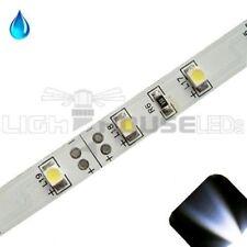 White - PLCC2/3528 12V LED Strip - Adhesive Backing - Water Resistant - 5m Roll