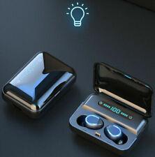 Bluetooth Earbuds Wireless Earphones 5.0 TWS Stereo Deep Bass in-Ear Headphones