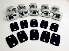 10 Single Ended Tom / Snare Drum Lugs without Mounting Screws