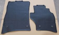 NEW GENUINE VW TOUAREG 7L FRONT RUBBER FLOOR MATS SET – ROUND STUD FIXINGS