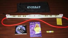 Body Flex Gymbar Resistance Band Tv Workout bag set + Dvd Greer Childers