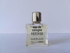 MINIATURE de PARFUM Vêtiver Guêrlain - eau de cologne -