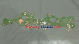 70-72 Chevy Chevelle SS dash instrument cluster printed circuit board w/ gauges