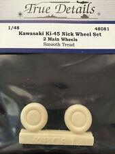 True Details Kawasaki Ki-45 Nick Wheels TD48081