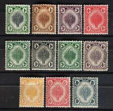 Malaya Kedah 1912-40 Assorted Definitives 11V MH LH M2291