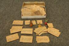 Vintage Antique Uncle Wiggily Game Piece Remnants in Antique PA Soap Co Box