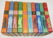 Vintage The New Junior Classics De Luxe Ed Set 10 Colliers 1955 48th Printing