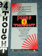 """PAUSE 4 THOUGHT Japan 1990 Tall 3"""" CD Single YOU'RE GONNA GET ALL MY LOVE"""