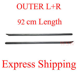 Outer Door Weather Window Rubber Seal Belt For Nissan Pickup D21 Hardbody 86-97