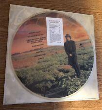 """LP 12"""" PICTURE DISC ORIGINALE 1989 ZUCCHERO SUGAR FORNACIARI ORO INCENSO & BIRRA"""