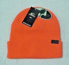 "Mossy Oak ""Blaze Orange"" Men's  Knit Cuffed Hunting Beanie Cap OSFM"