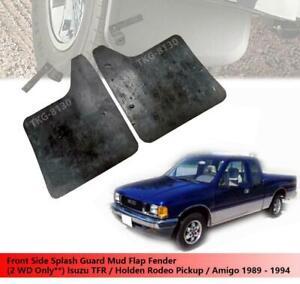 Front Side Splash Guard Mud Flap Fender For (2WD) Isuzu TFR Pickup 1989 - 1994