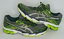 Asics GT-1000 T3R0N Gel Speva 55 Mens Size 9.5 Running Shoes Green Black F460913