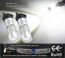 PWY24W CanBus Cree LED For Golf Volvo V60 DRL Daytime Side Lights Parking Bulbs