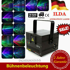 Lasershow World 1000mW RGB/DMX/ILDA Bühnenlicht Animation Laser DJ Disco Stage