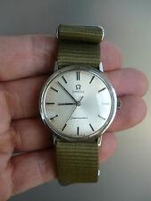 Vintage Omega Seamaster Rare Cal 601 Swiss Steel Watch 1969-1970