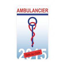 Caducée Ambulancier autocollant sticker