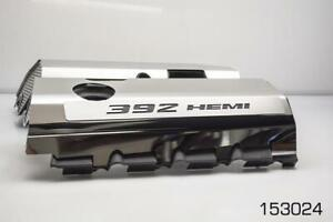 Polished Fuel Rail Covers W/ Carbon Fiber for 2011-2014 SRT8 6.4 392 Engines