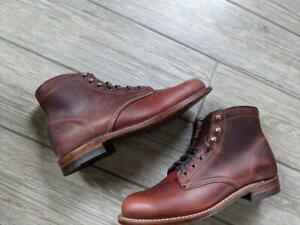 uworn new WOLVERINE boots 1000 mile 9 D brown rust W05299