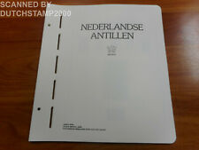 Used Importa album pages - Netherlands Antilles - 2000-2004 (26 pages)