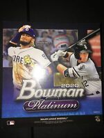 🔥⚾️⚾️2020 Bowman Platinum Mega Box Baseball 2 Chartreuse Parallels🌈🌈1 Auto✍️