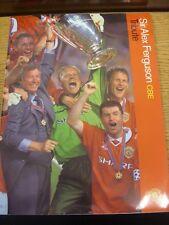 11/10/1999 Manchester United v Rest Of The World [Sir Alex Ferguson CBE Tribute]