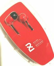 2XL Spoke Skullcandy Noise Isolating In-Ear Earbud/Headphone Model:X2SPZ-691-Red