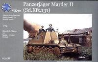 MK72 1/72 7208 WWII German Sd.Kfz.131 Marder II Self-Propelled Gun