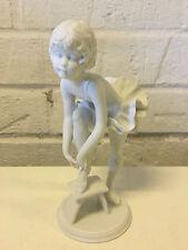 Vintage Kaiser German Bisque Porcelain Figurine 530 Ballerina Girl W. Gawantka