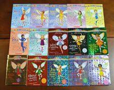 Lot of 15 PB Rainbow Magic Fairy Chapter Books Princess Jewel Fashion Party L9