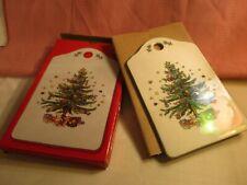"CHRISTMASTIME~NIKKO CERAMIC SNACK/CHEESE BOARD 9"" x 5 3/4"" ~ 2 SIDED W/BOX~JAPAN"