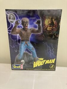REVELL The Wolf Man, Wolfman Model Kit, 1:8 Scale, Complete Sealed