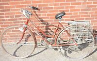 1970's Schwinn Suburban Womens 10 Speed Bicycle Root Beer Color