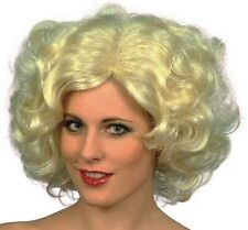 Madonna 80's 1920s Short Blonde 50's Icon Fancy Dress Accessory Wig NEW P385
